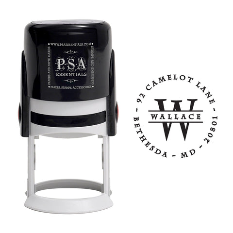 PSA Essentials Personalized Self-Inking Return Address Stamp