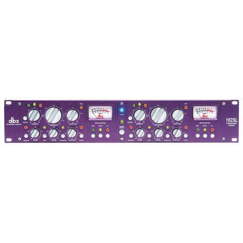 DBX 162SL Purple Series Stereo Compressor/Limiter with AutoVelocity™