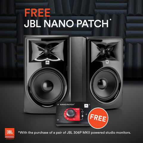 JBL 306P MKII Nano Patch Promotion