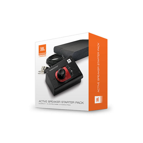 JBL ACTIVEPACK Nano Patch+ Cables And Speaker Isolation