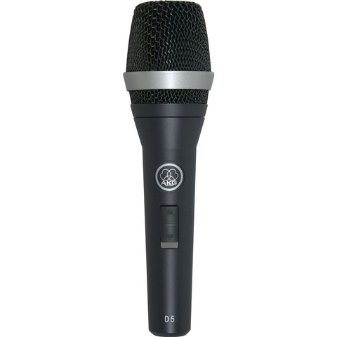 AKG D5S Dynamic S.Cardioid Vocal Mic W/Switch