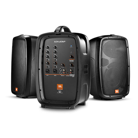 JBL EON206P Portable Speaker system with detachable powered mixer