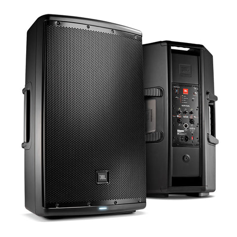 "JBL EON615 1000W Powered 15"" 2-Way Loudspeaker Each"