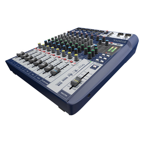 SOUNDCRAFT SIGNATURE10 4 Mono 2 Stereo 1 Usb Analog Console