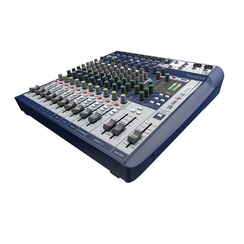 SOUNDCRAFT SIGNATURE12 6 Mono 2 Stereo 1 Usb Analog Console