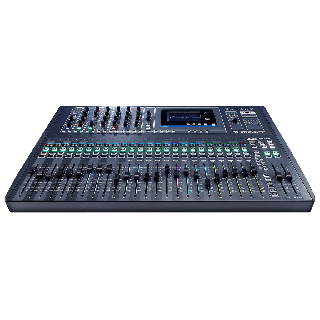 SOUNDCRAFT SIIMPACT Digital Mixing Console with 32-in/out Multitrack R