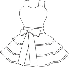 apron drawing