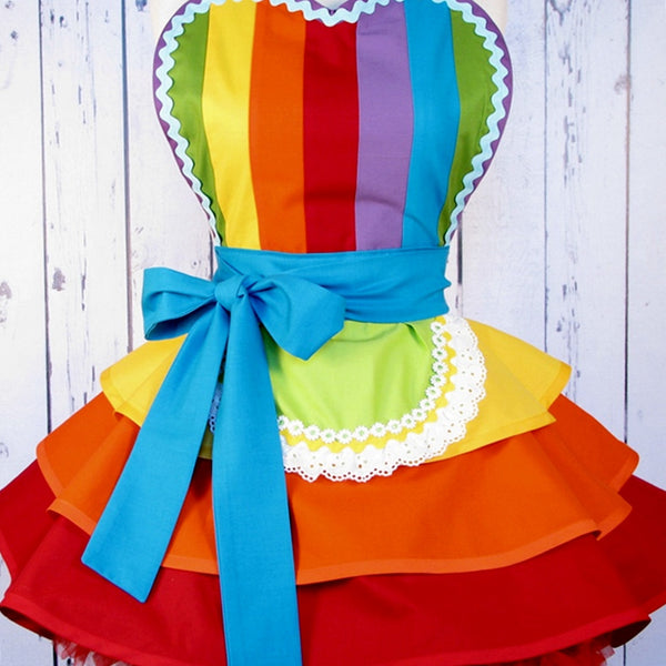 Rainbow Fairy Princess Ballerina Apron