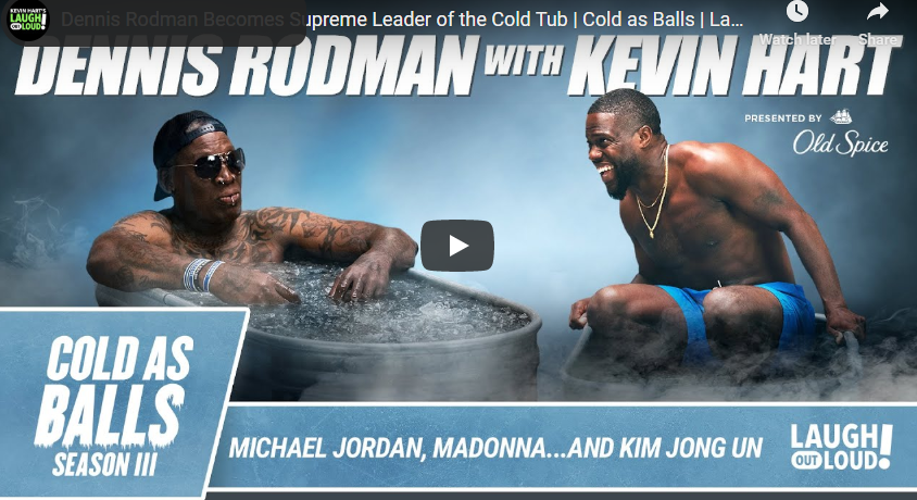 Dennis Rodman Becomes Cold as Balls With Kevin Hart Network