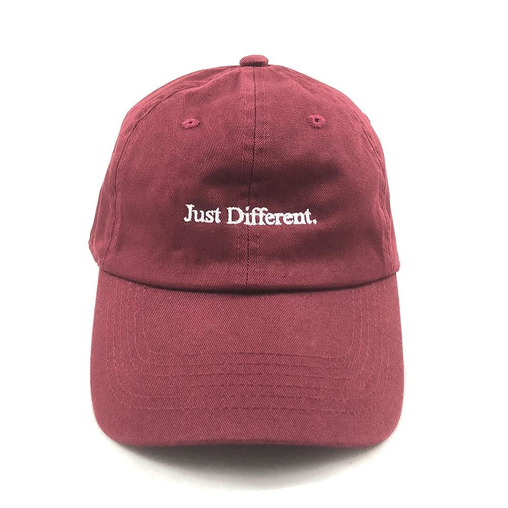 Genuine By Anthony Crimson Just Different Dad Hat