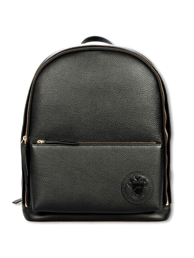 Genuine By Anthony Exclusive Premium Black Leather Backpack - Genuine By Anthony