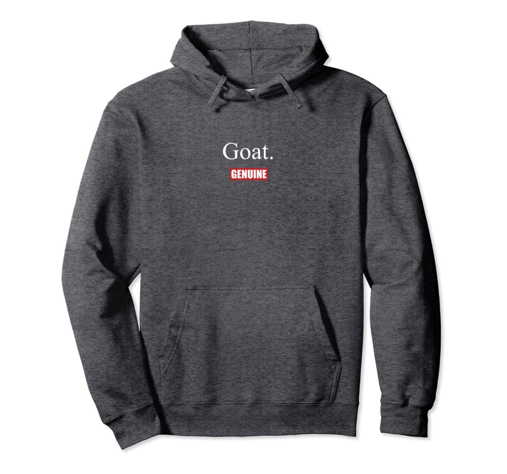 Genuine By Anthony Goat Hoodie