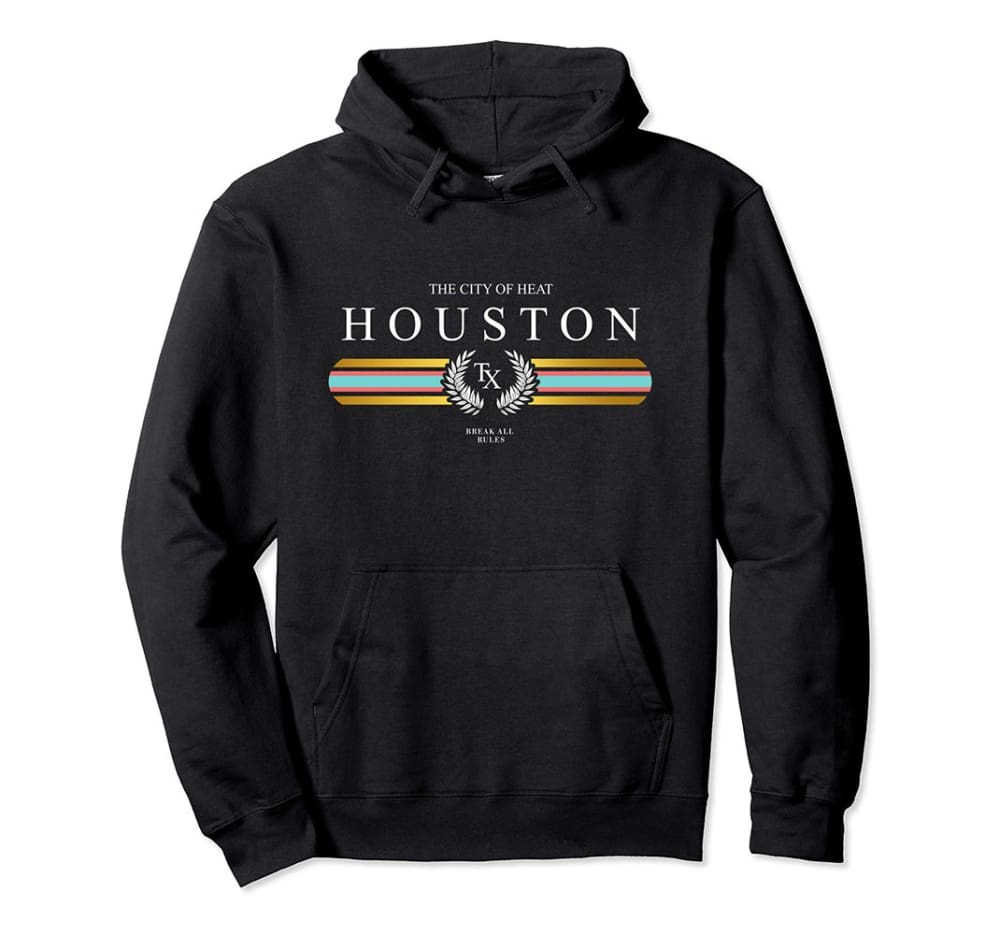 Genuine By Anthony Houston Heat Hoodie ll - Small / Black - hoodie