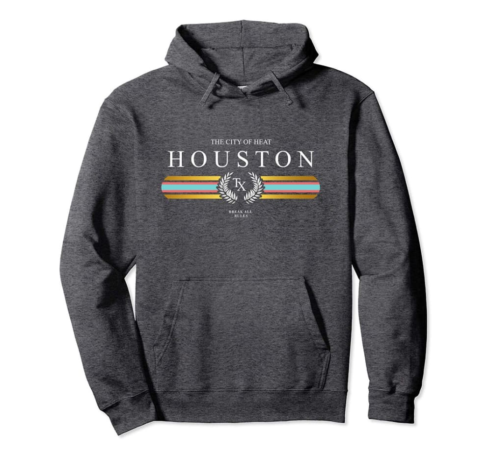 Genuine By Anthony Houston Heat Hoodie ll - Small / Dark Grey - hoodie