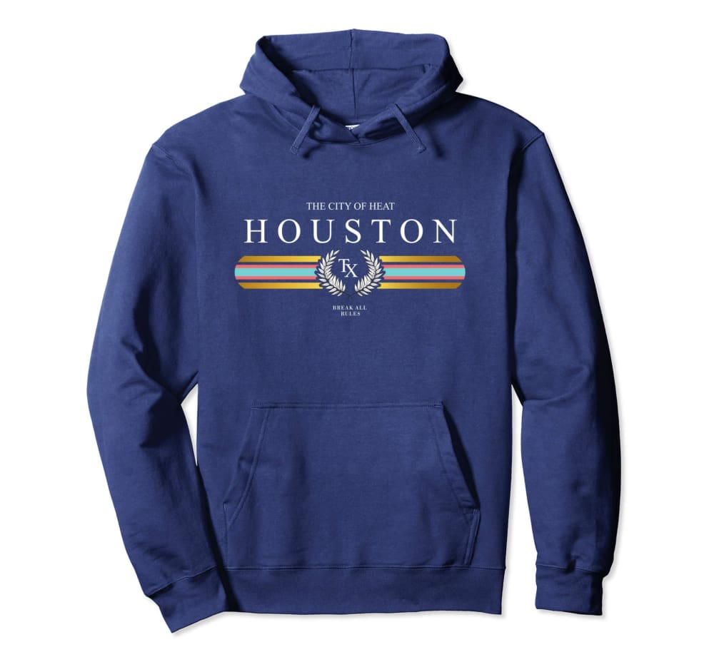 Genuine By Anthony Houston Heat Hoodie ll - Small / Navy - hoodie