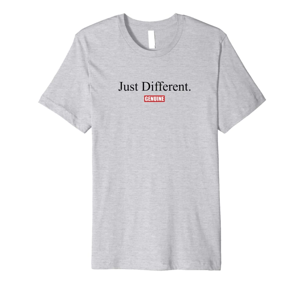 Genuine By Anthony Just Different Pt.ll Tshirt