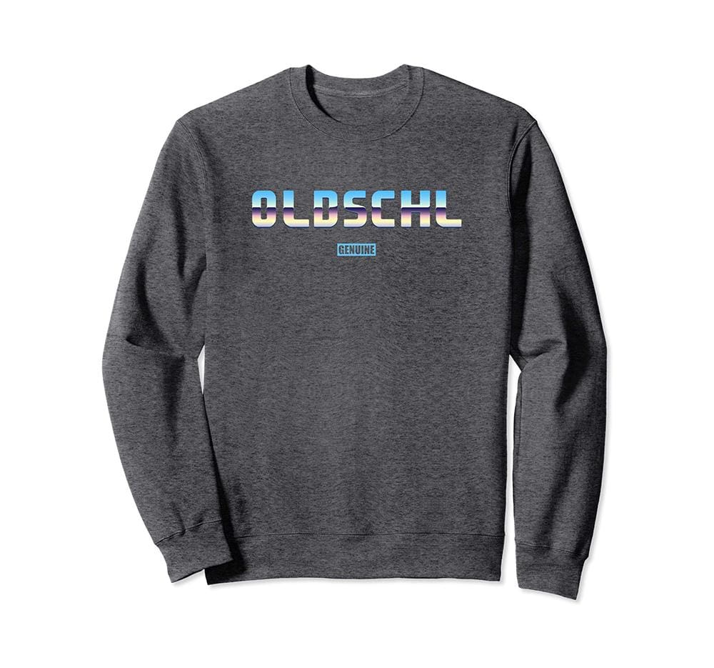 Genuine By Anthony Old School Sweatshirt - Unisex Small / Grey - Sweaters