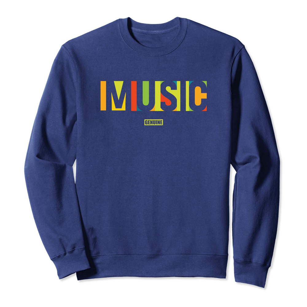 Genuine By Anthony Music We Love Sweatshirt