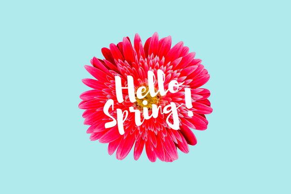 Hello spring, welcome back