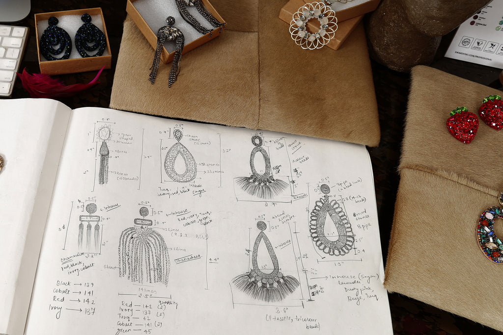 Behind the scenes at our Deepa Gurnani India Design Studio