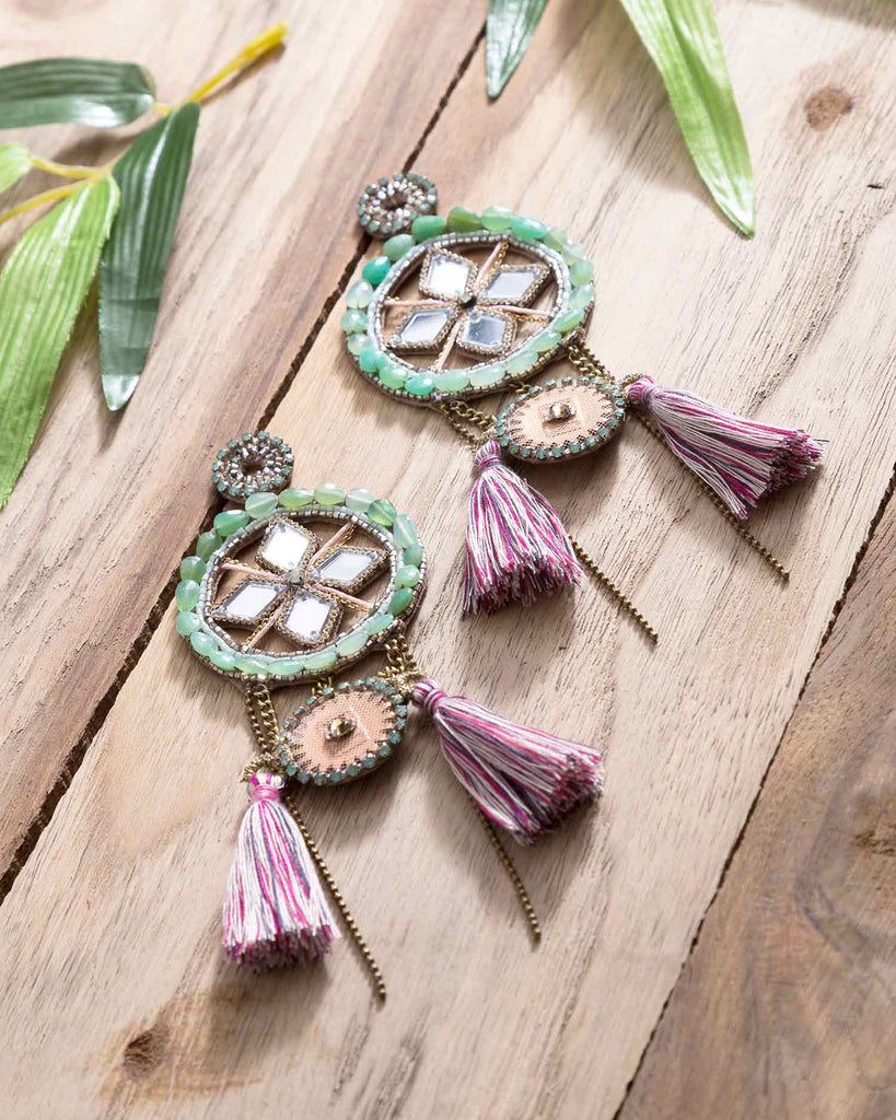 Deepa Gurnani Luxury Earrings