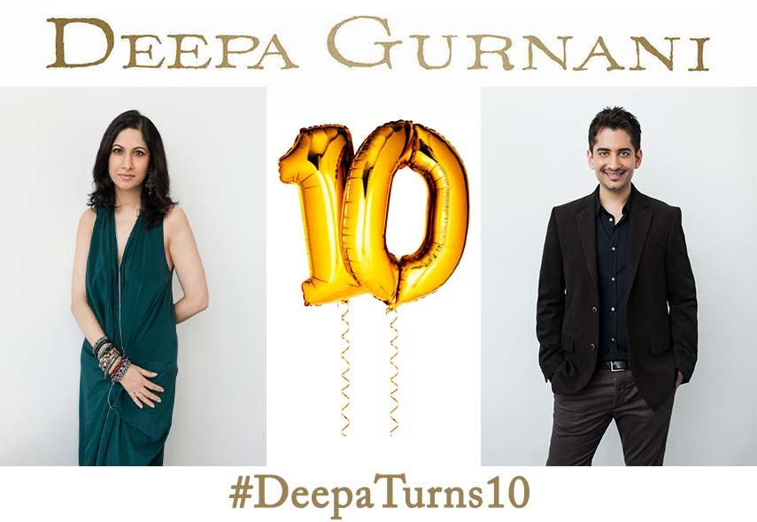 Deepa Gurnani 10th Year Aniversary