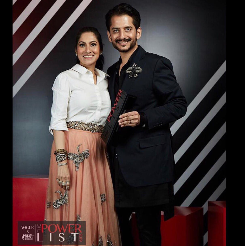 Jay and Deepa Lakhani at the Vogue Nykaa Power List Awards Ceremony
