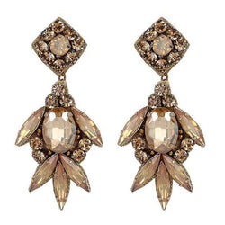 Deepa by Deepa Gurnani Handmade Shirene Earrings in Gold