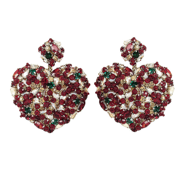 Deepa Gurnani Handmade Madeleine Earrings