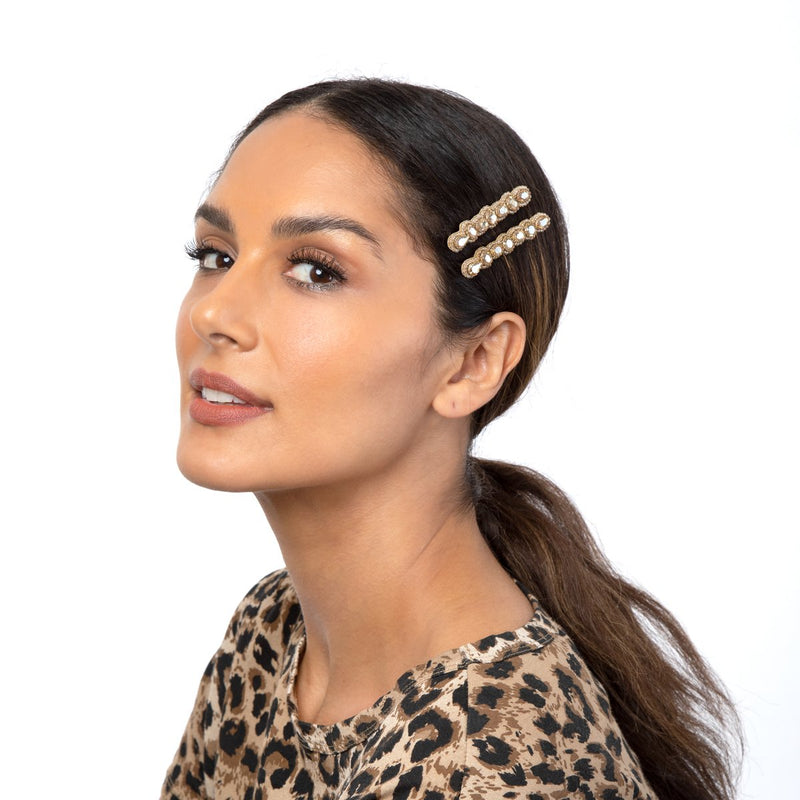 Unique Handmade Hair Clips by Deepa Gurnani