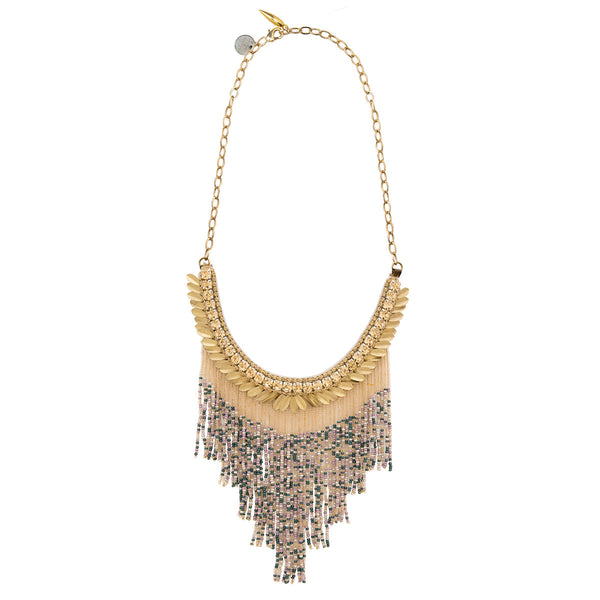 Deepa by Deepa Gurnani Handmade Cheryl Necklace in Gold