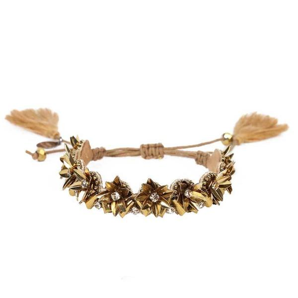 Deepa by Deepa Gurnani Handmade Quincy Bracelet in Gold