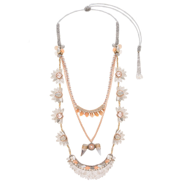 Deepa Gurnani Handmade Jacinda Statement Luxe Necklace