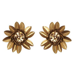 Deepa by Deepa Gurnani Handmade Ora Earrings in Gold