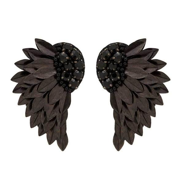 Deepa by Deepa Gurnani Handmade Perry Earrings in Black