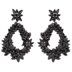 Deepa by Deepa Gurnani Handmade Black Belie Earrings