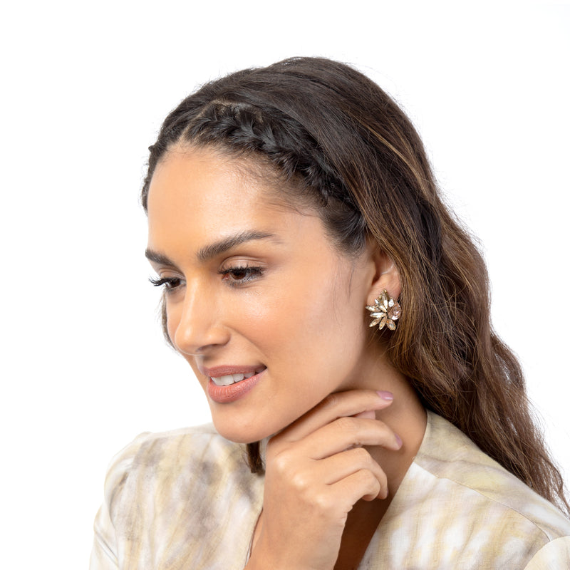 Leandra Clip-On Earrings