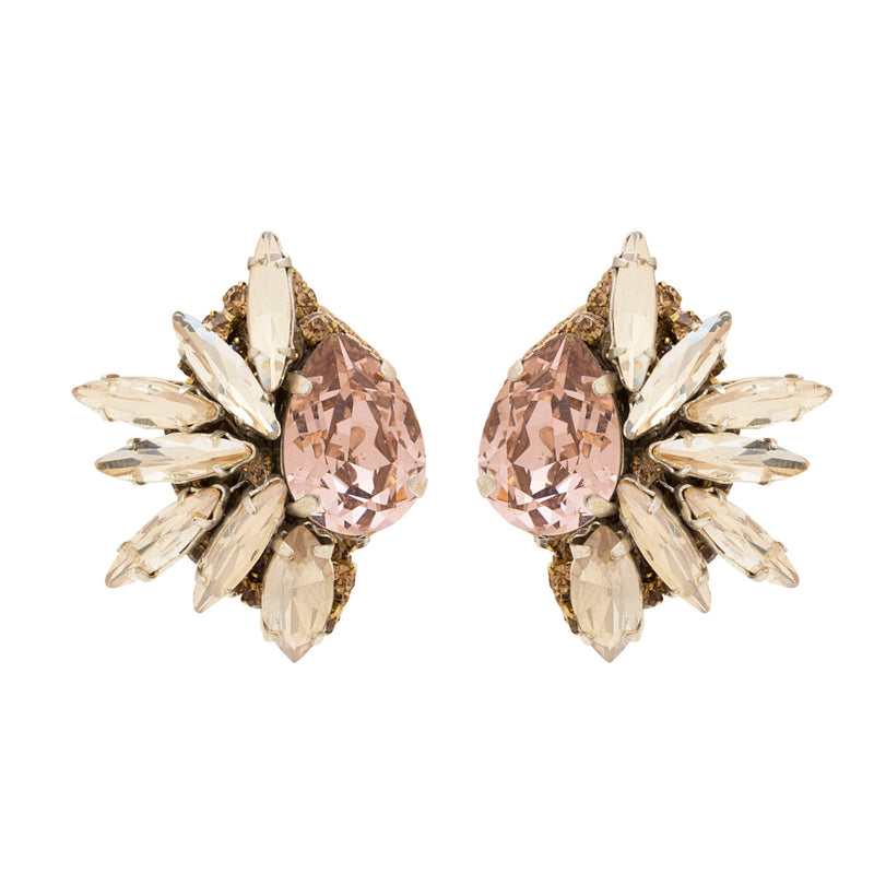 Deepa by Deepa Gurnani Leandra Clip-On Earrings Gold
