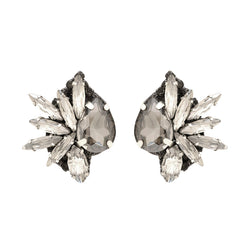 Deepa by Deepa Gurnani Leandra Clip-On Earrings Gun