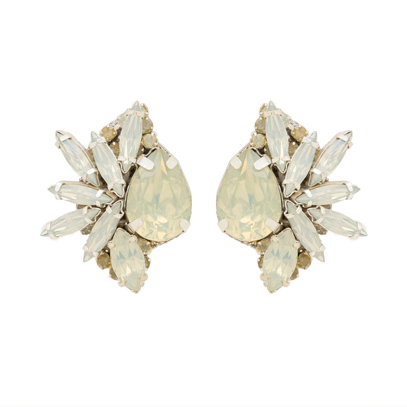 Deepa by Deepa Gurnani Leandra Clip-On Earrings Silver