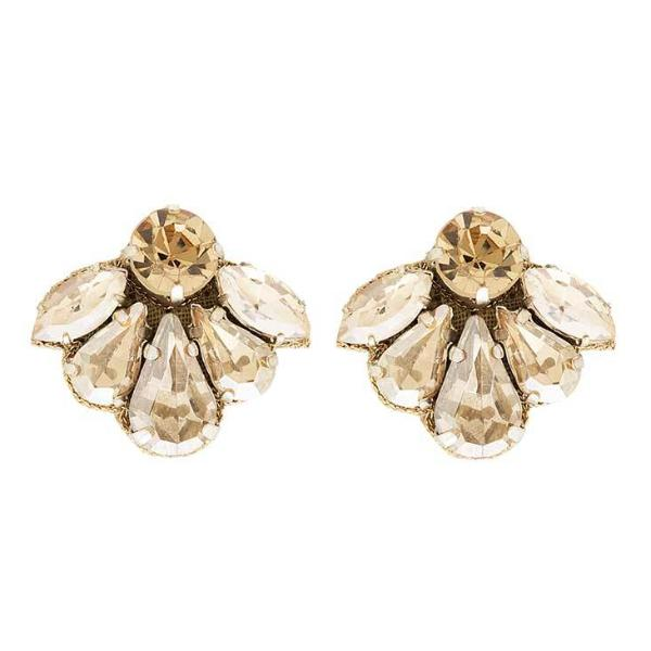 Deepa by Deepa Gurnani Handmade Tristan Earrings in Gold