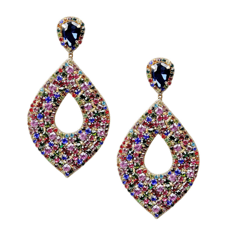 Deepa by Deepa Gurnani Handmade Multicolor Cedani Earrings