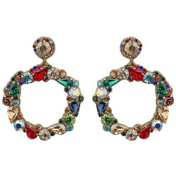 Deepa by Deepa Gurnani Handmade Red Hazelyn Earrings