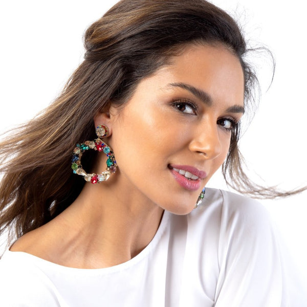 Our Hazelyn Earrings are sure to accent your lively personality.