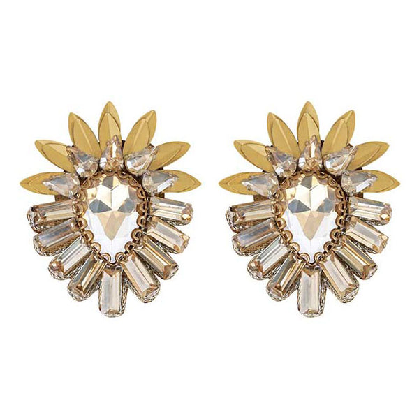Deepa by Deepa Gurnani Handmade Aryanna Clip-On in Gold