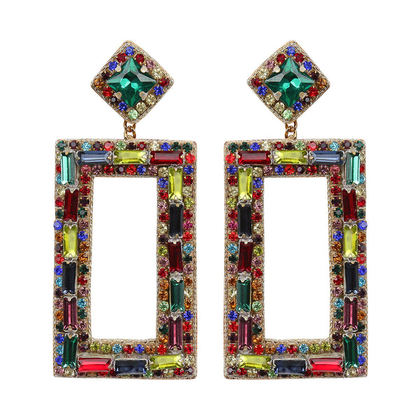 Deepa by Deepa Gurnani Handmade Multi Color Cienna Earrings
