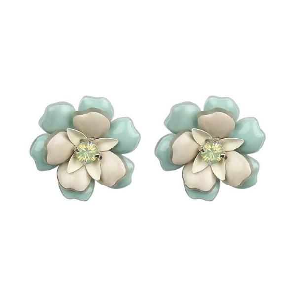 Deepa by Deepa Gurnani Handmade Mint Fiora Earrings