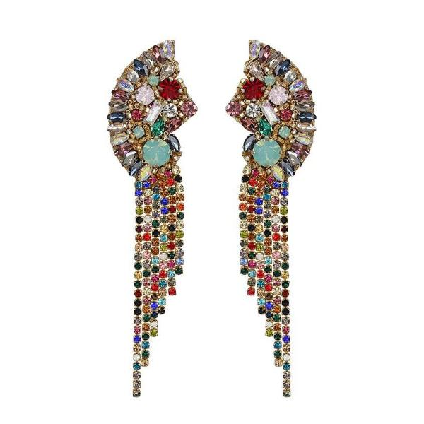Deepa by Deepa Gurnani Handmade Multicolor Verity Earrings