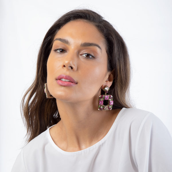Wear our Jazlyn Earrings you really want to make an impact!