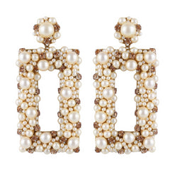 Deepa by Deepa Gurnani Sophia Earrings Gold
